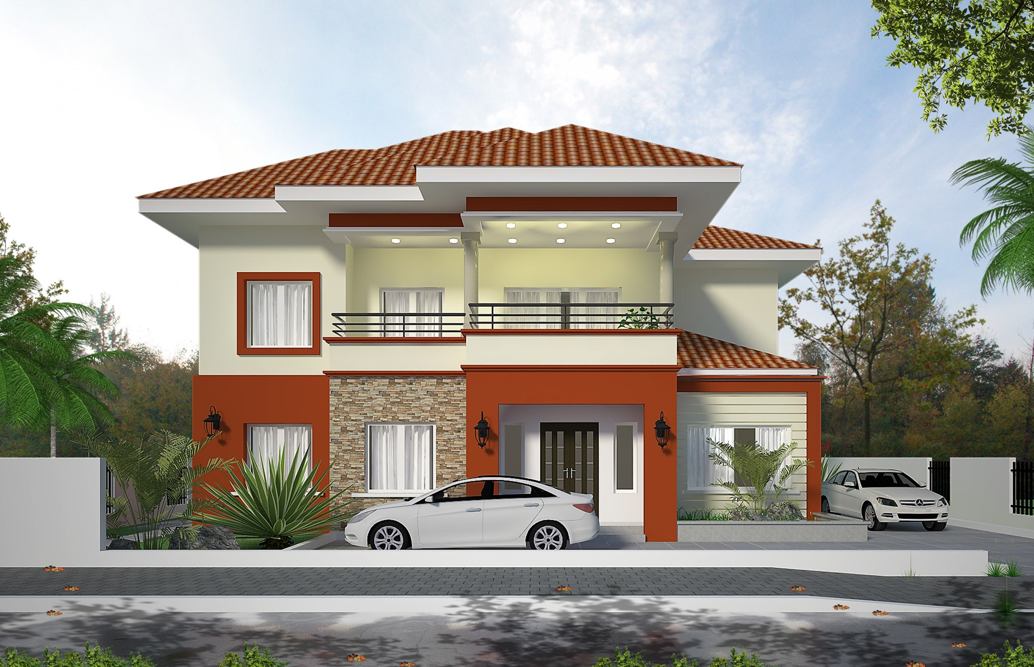 THE DUKE 4 Bedroom Detached House With Two Bedroom Boys Quarters