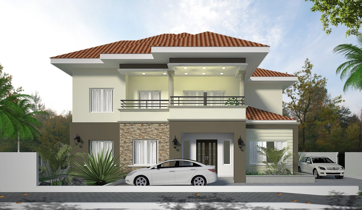 OYIBI STOREY BUILDING_FRONT View 1