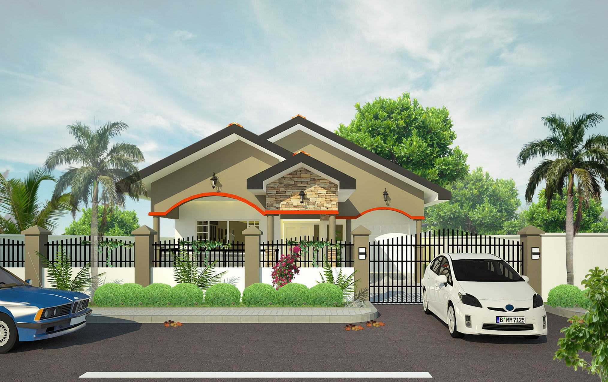 THE MARQUES – 3 Bedroom Bungalow with Garage