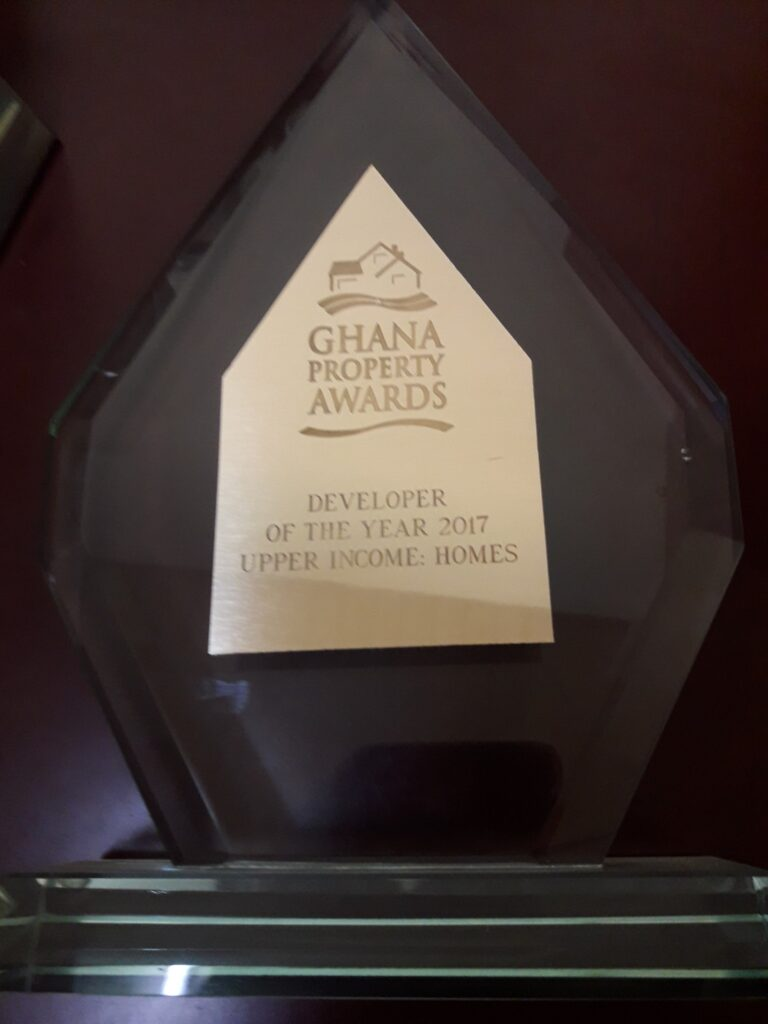 DEVELOPER OF THE YEAR UPPER INCOME 2017