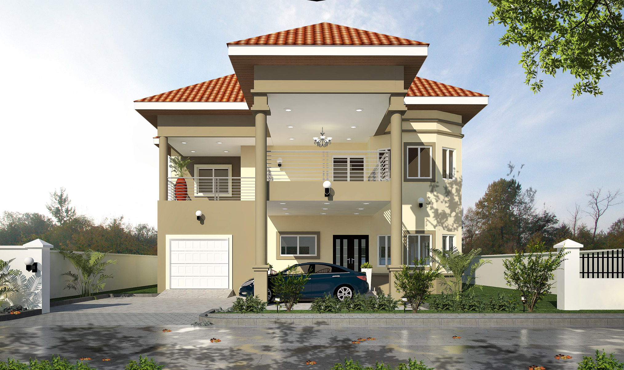 THE EMPRESS 4 Bedroom Detached House With Two Bedroom Boys Quarters