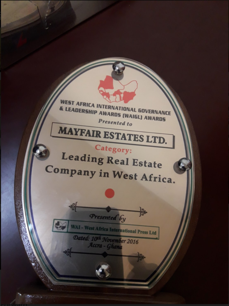 LEADING REAL ESTATE COMPANY IN WEST AFRICA