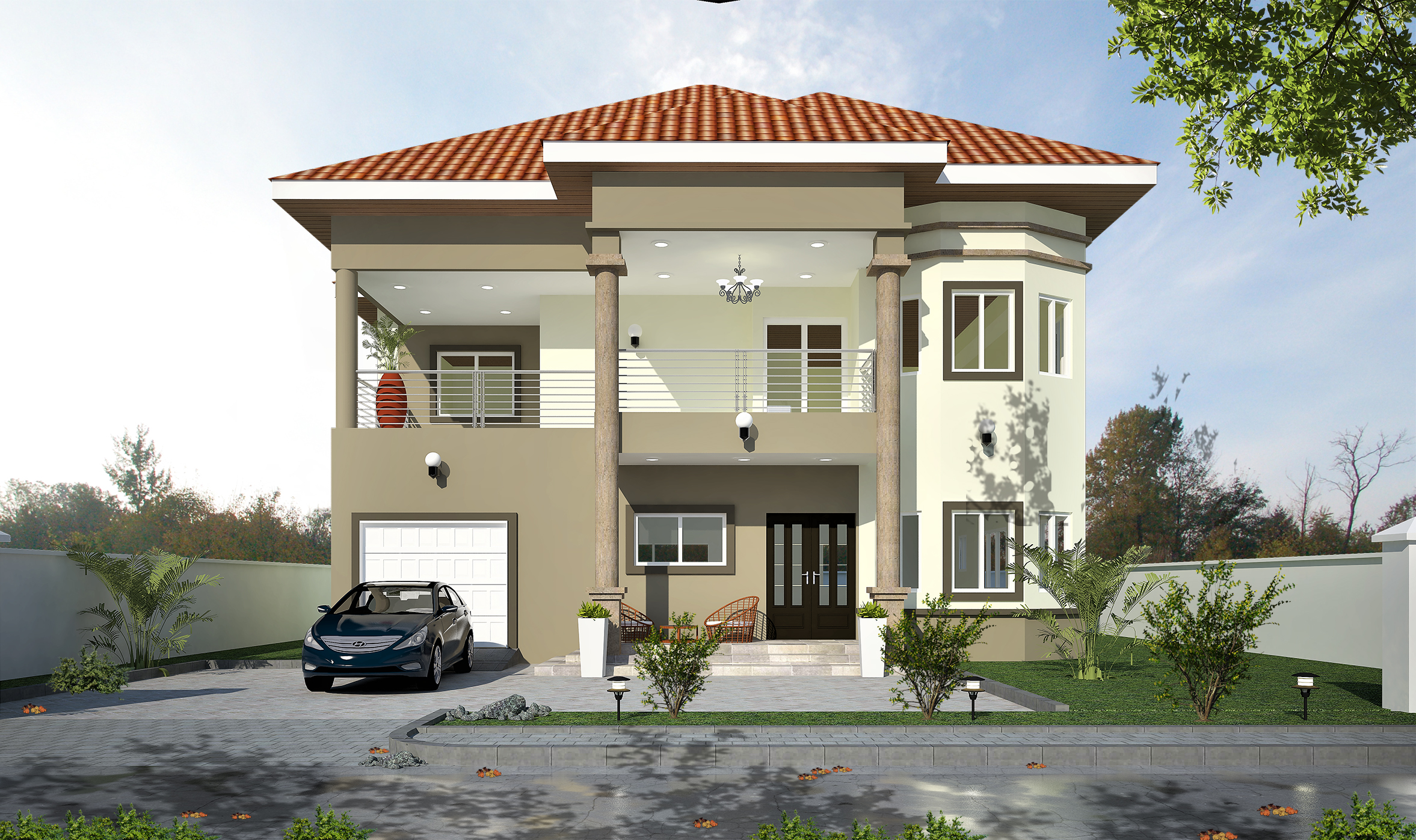 THE KING 4 Bedroom Detached House With Two Bedroom Boys Quarters