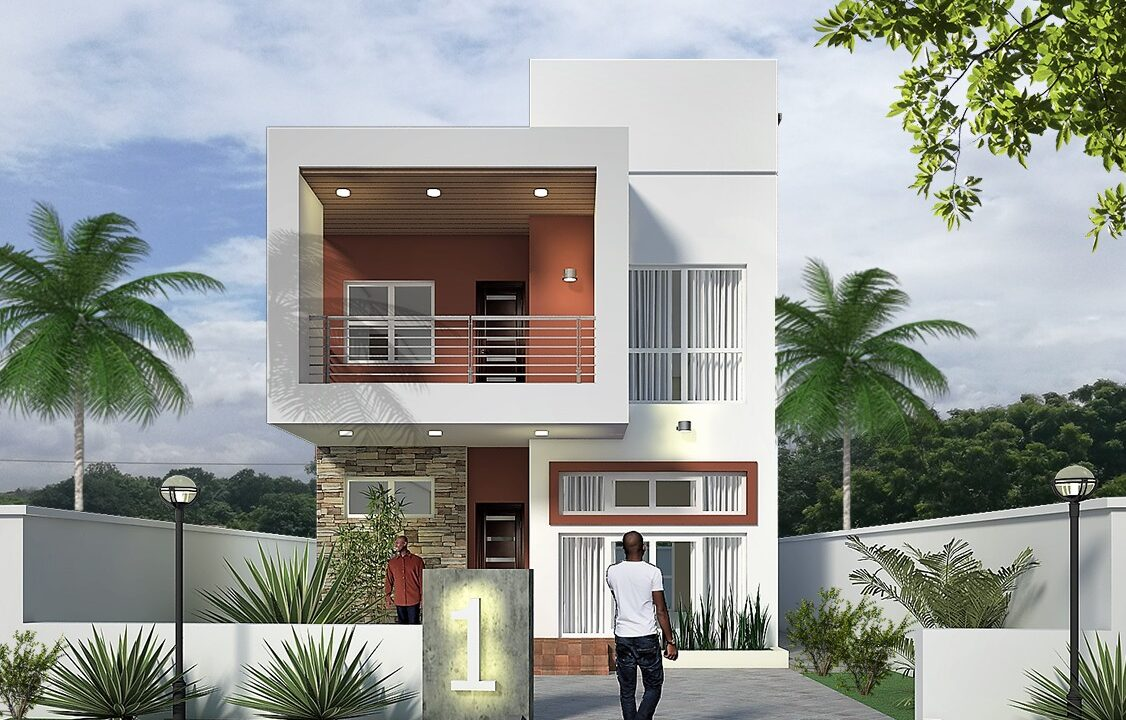 THE PRINCE 4 BEDROOM DETACHED FRONT VIEW