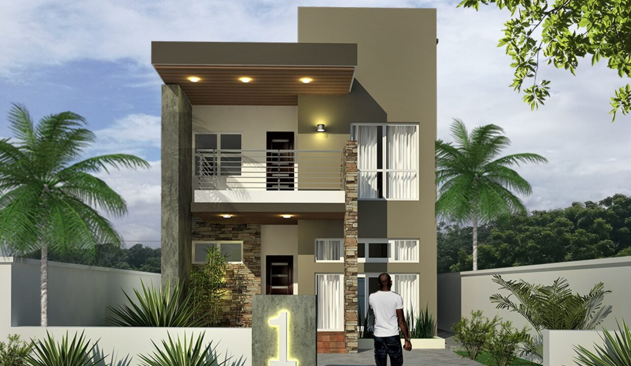 THE PRINCES 3 BEDROOM DETACHED FRONT VIEW