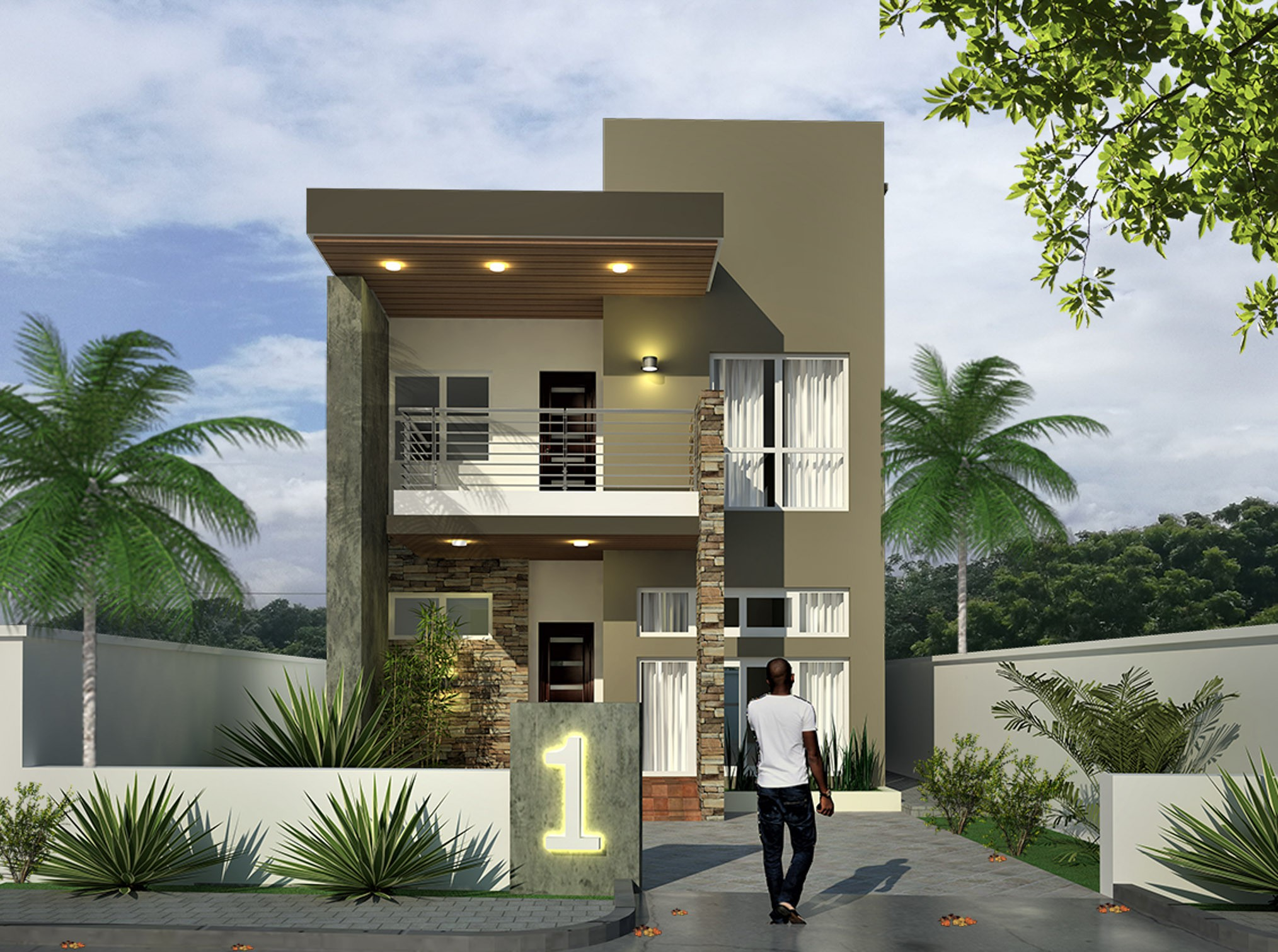 THE PRINCESS 3 Bedroom Detached Town House