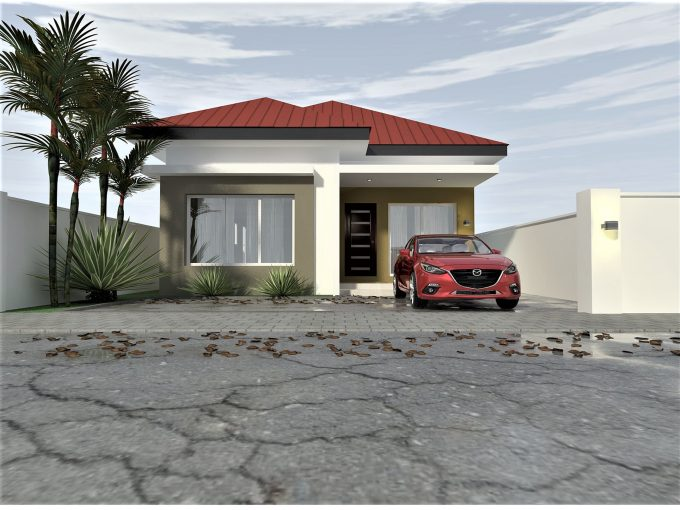 THE RUBY – 2 Bedroom Detached Bungalow